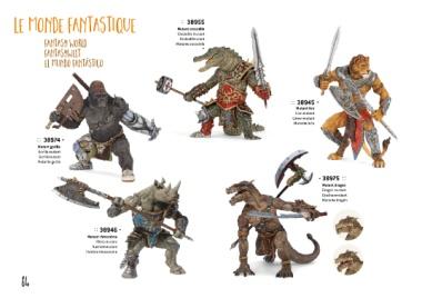 Papo fantasywelt-rinoceronte mutante guerrieri 38946-NUOVO