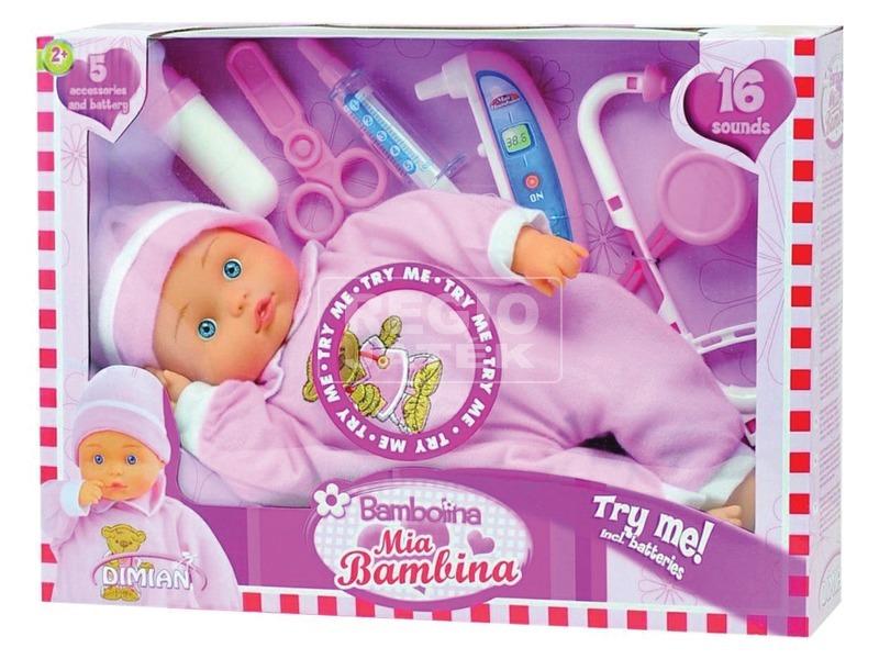Bambolina Mia baba - 36 cm