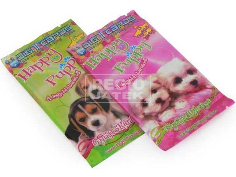 Happy puppy kiegészítő kártya
