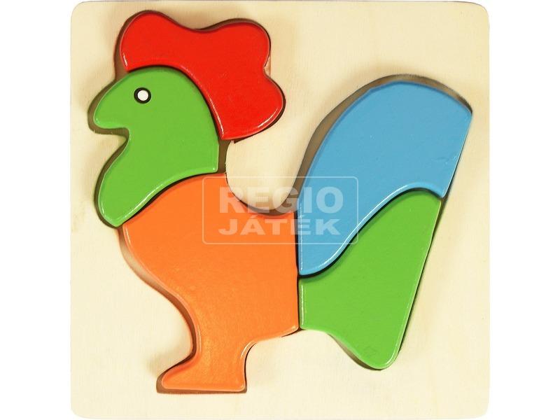 Kakas 5 darabos fa puzzle