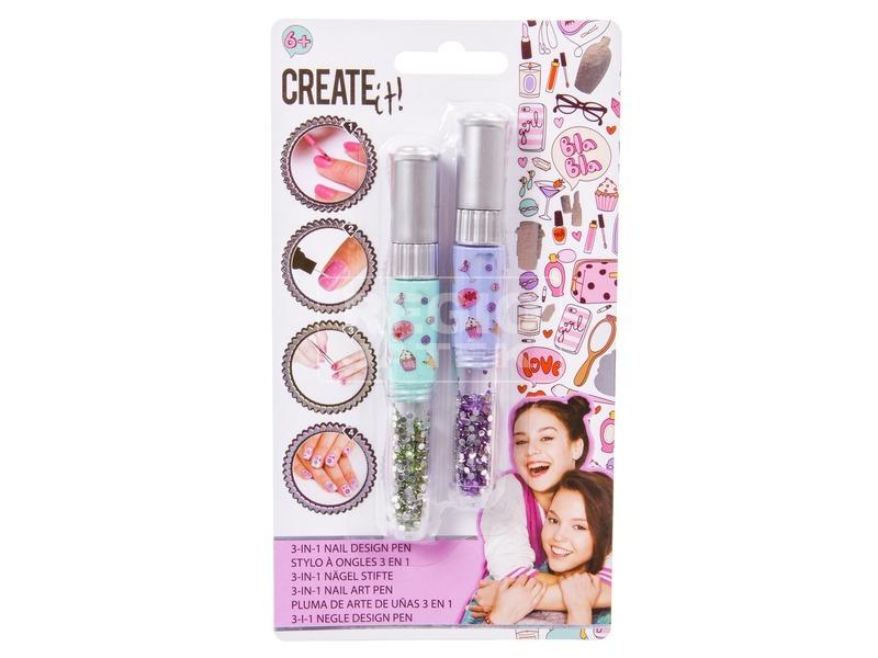 Csináld magad körömfestő toll készlet - többféle