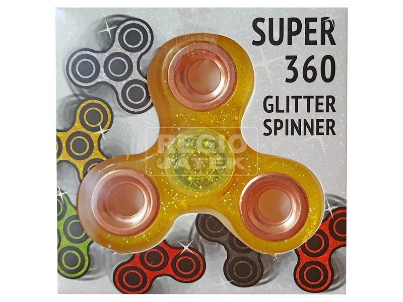 Fidget Spinner csillogó pörgettyű - többféle