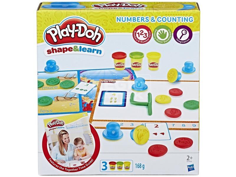 Play-Doh számok gyurmakészlet