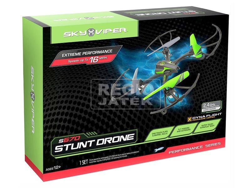 Sky Viper Stunt Drone quadrocopter