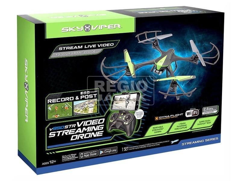 Sky Viper Video Streaming Drone quadrocopter