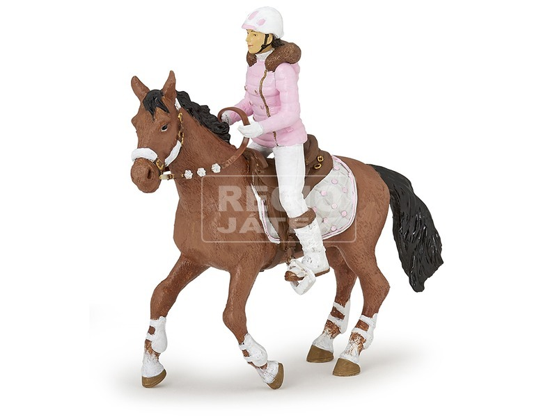 Papo téli lovagló lány 52011