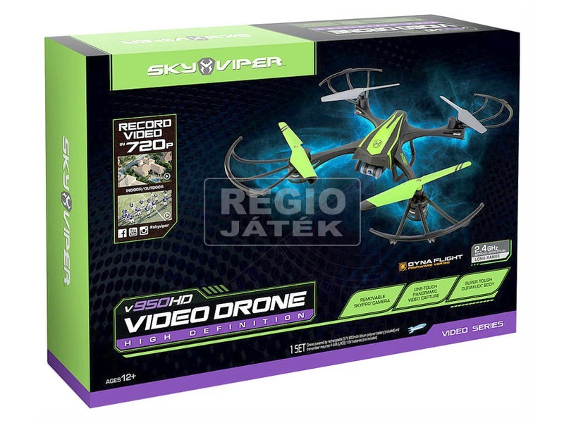Sky Viper HD Video Drone quadrocopter