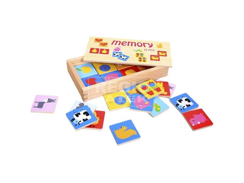 Fa memóriajáték 32 darabos készlet