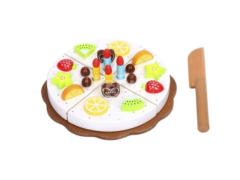 Fa szülinapi torta vágható készlet