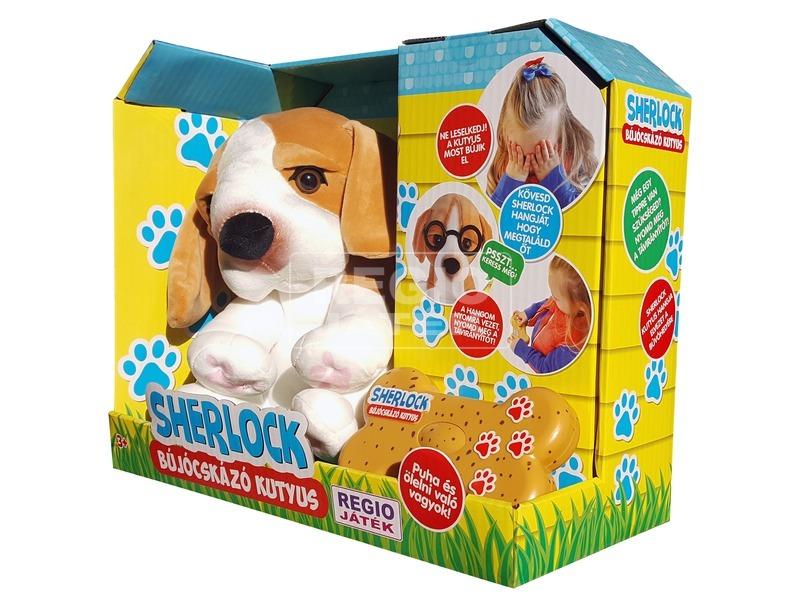 kép nagyítása Sherlock a bújócskázó kutyus