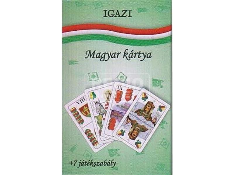 Igazi magyar kártya 7 játékszabállyal