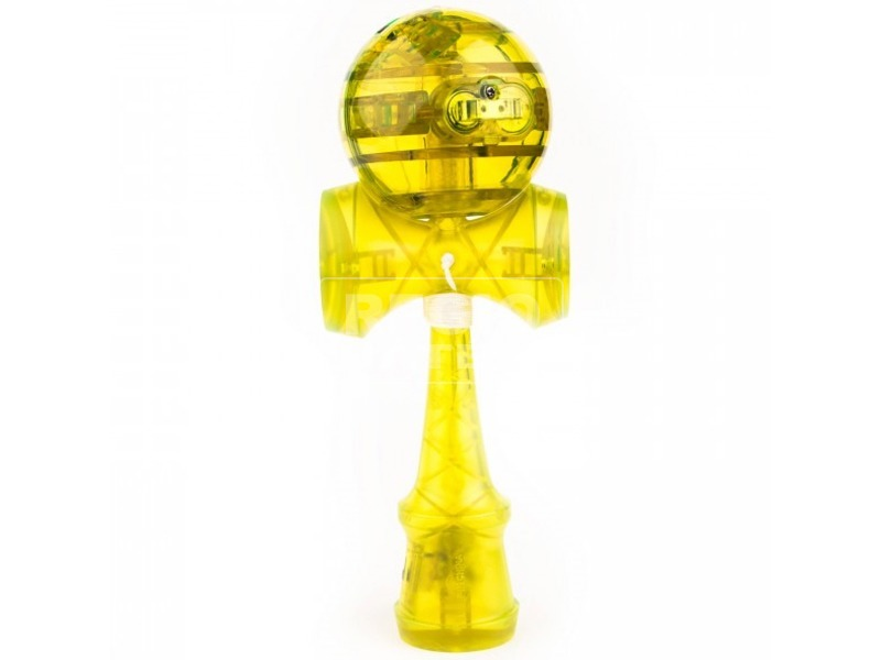 Catchy LED kendama sárga