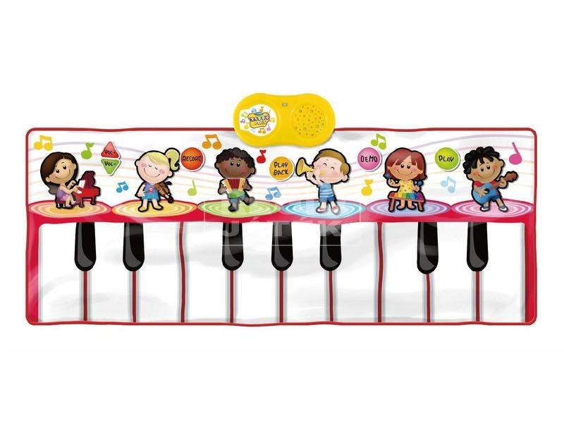 Iskolai zenekar zenélő játszószőnyeg