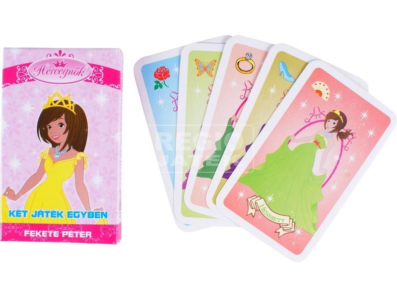 Hercegnők 2 az 1-ben kártyajáték