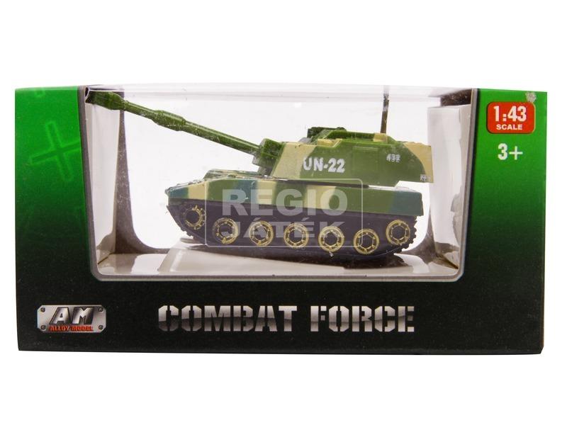 Fém tank modell 1:43 - többféle