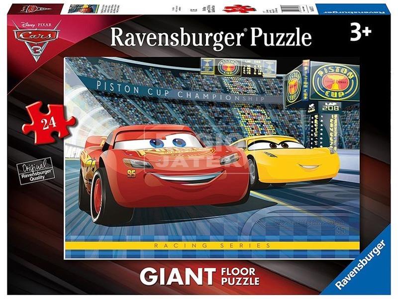 Verdák 3 - 24 darabos szőnyeg puzzle