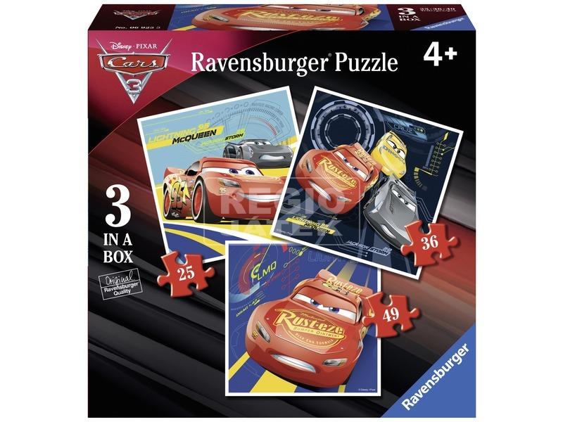 Verdák 3 - 3 az 1-ben puzzle