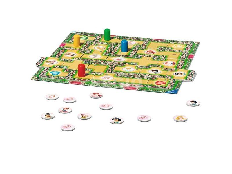 kép nagyítása Disney hercegnők labirintus társasjáték
