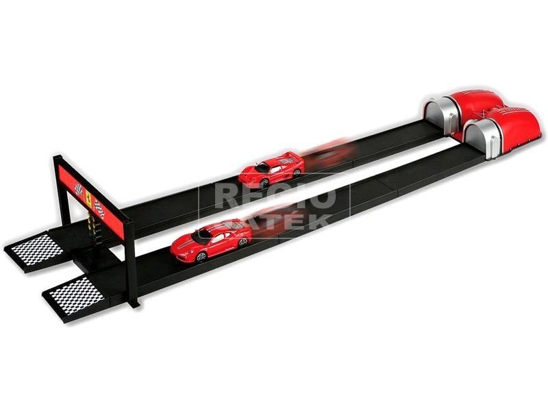 Bburago Ferrari Race and Play kisautó kilövővel - többféle