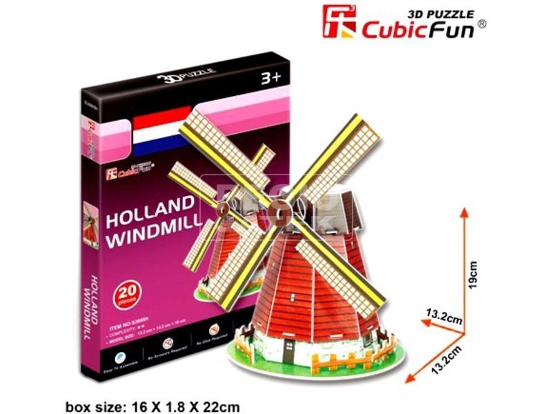 kép nagyítása Híres építmények 3D mini puzzle - többféle