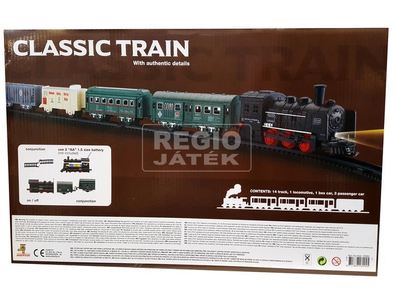 kép nagyítása Klasszikus vonat 19 darabos készlet