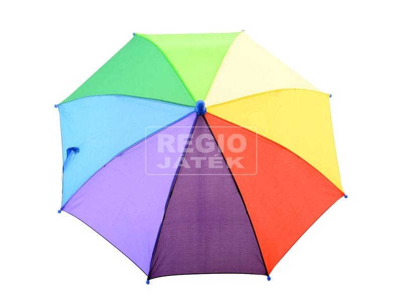 Szivárvány színű esernyő, 4 féle