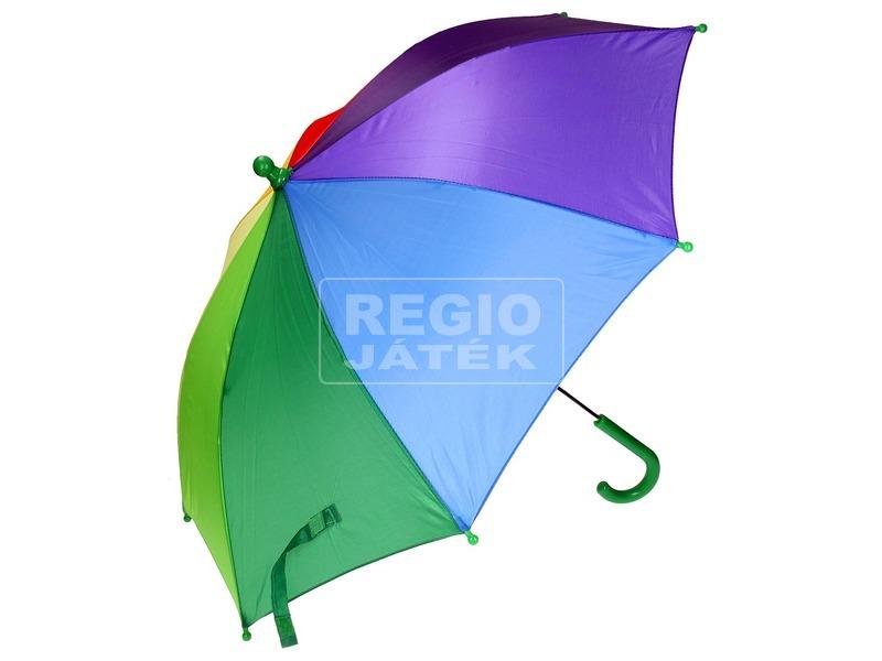 kép nagyítása Szivárvány színű esernyő, 4 féle