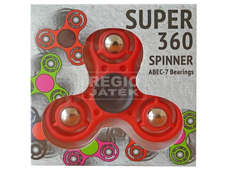 Spinner pörgettyű fémgolyóval, 4 féle