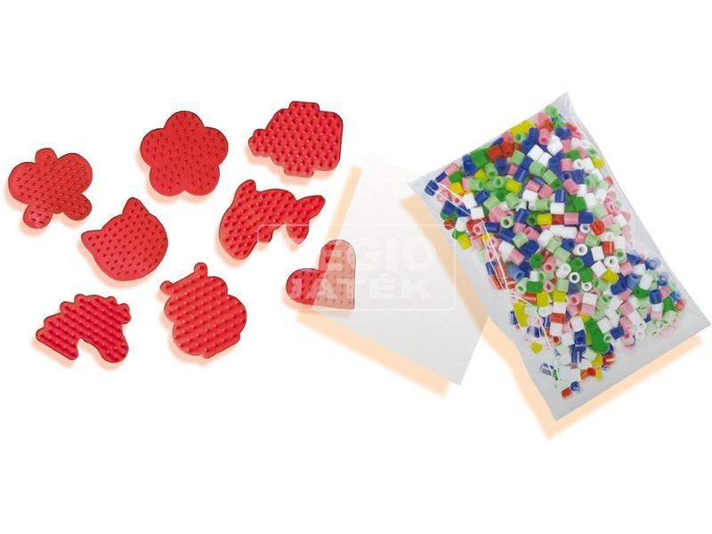 kép nagyítása SES mini 1 600 darabos vasalható gyöngy készlet