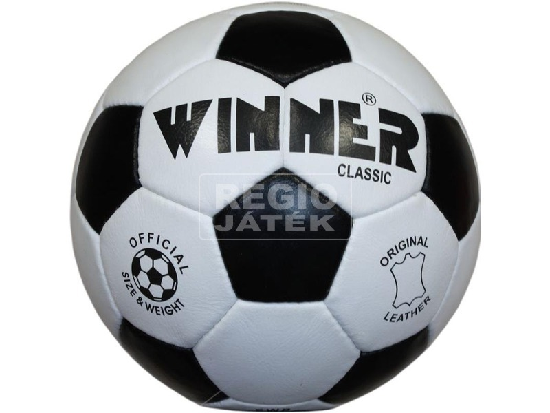 Winner Fair Play bőr focilabda