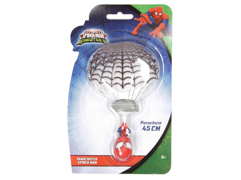 Pókember ejtőernyős figura - 45 cm