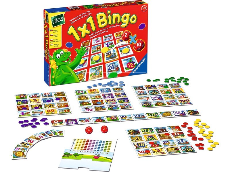 1 x 1 Bingo társasjáték