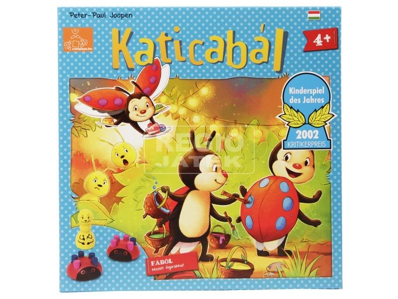 kép nagyítása Katicabál társasjáték