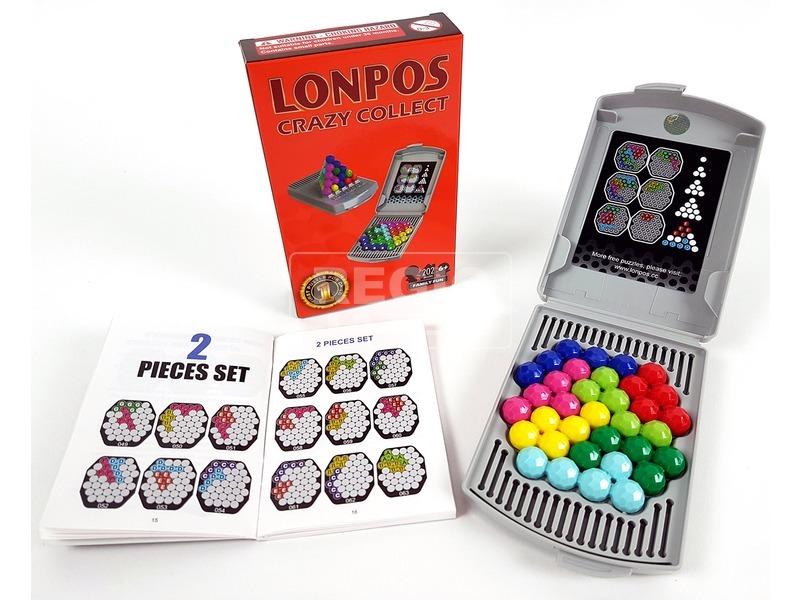 kép nagyítása Lonpos 202 Crazy Collect logikai játék