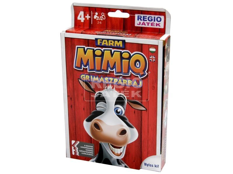 kép nagyítása MimiQ - Farm grimaszpárbaj társasjáték