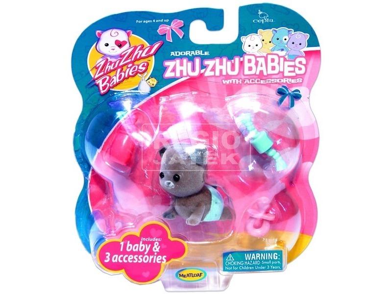 ZhuZhuPets bébi mini állatfigura - többféle