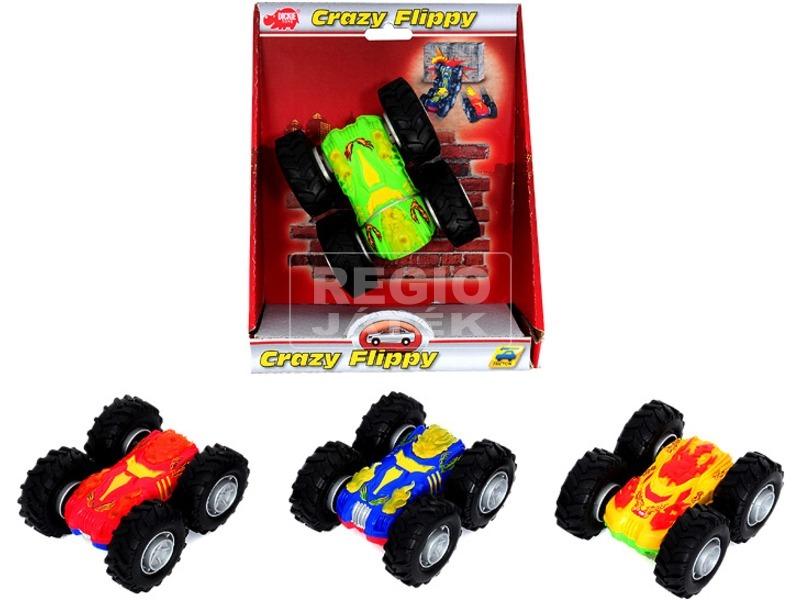 kép nagyítása Dickie Crazy Flippy megfordulós autó, 4 féle szín