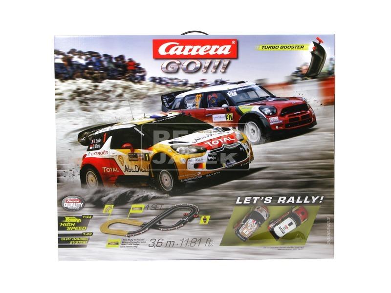 Carrera GO Lets Rally versenypálya - 360 cm