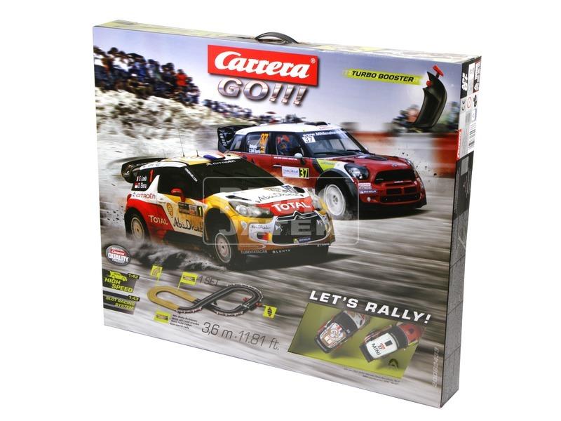 kép nagyítása Carrera GO Lets Rally versenypálya