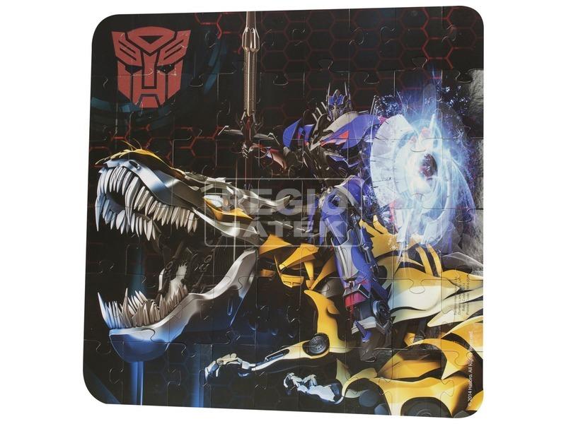 kép nagyítása Transformers sötétben világító fali puzzle