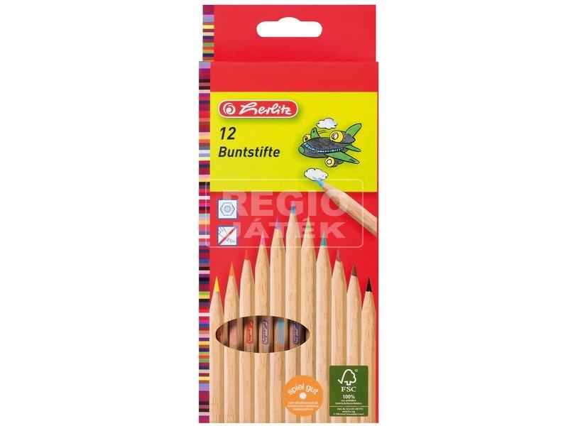 Natúr színes ceruza 12 darabos