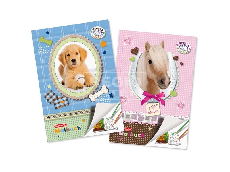 Pretty Pets kifestő 28 lapos - A4, többféle