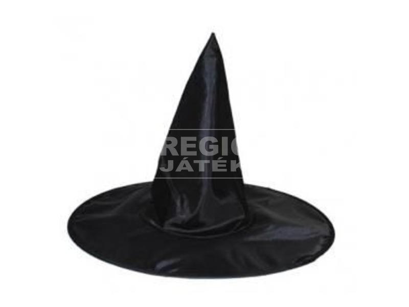 Boszorkány kalap jelmezhez - fekete, univerzális méret