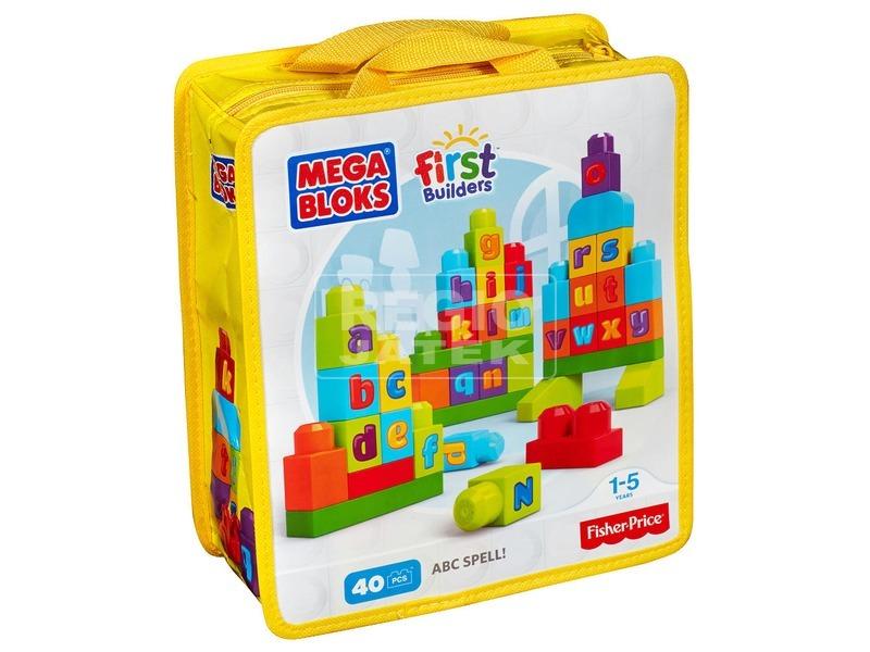 Mega Bloks ABC építőkocka készlet