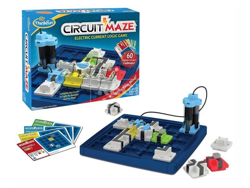 kép nagyítása Circuit Maze logikai játék