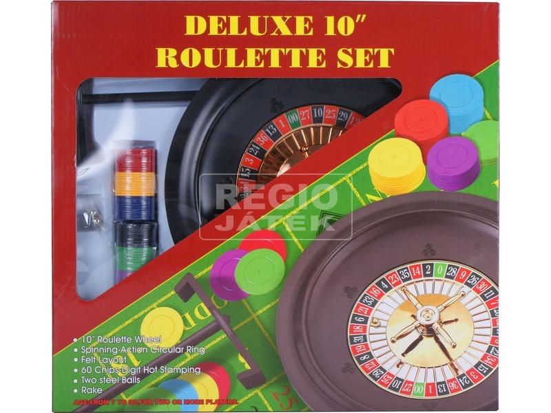 kép nagyítása Rulett társasjáték dobozban