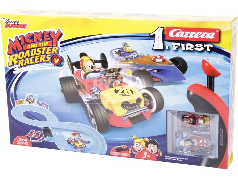 Carrera First Mickey Roadstar Racers versenypálya