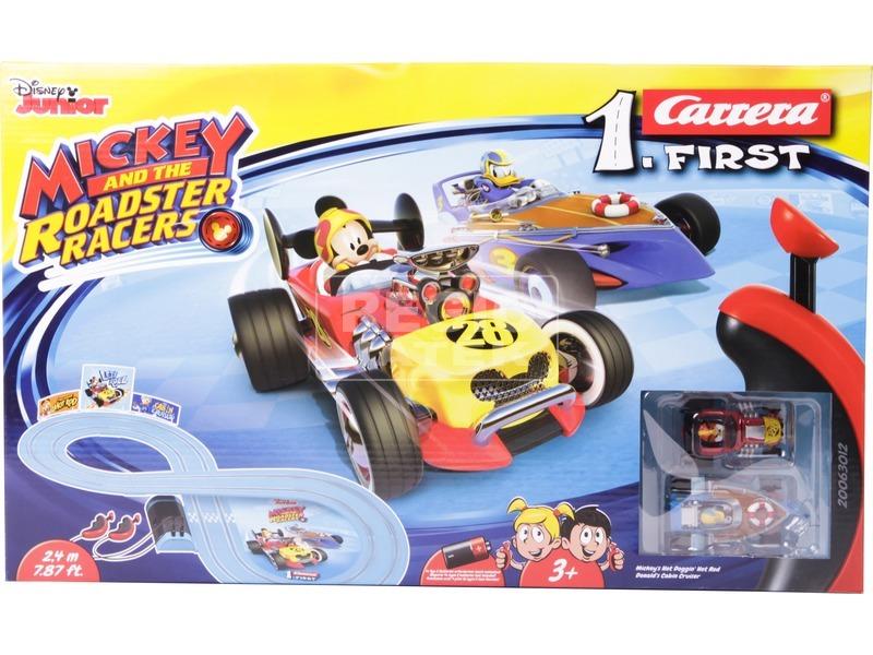 kép nagyítása Carrera First Mickey Roadstar Racers versenypálya