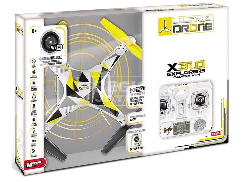 Ultra Drone X31. 0 Wi-Fi távirányítós quadrocopter