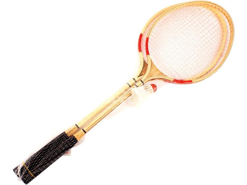 Fa tollasütő 2 darabos készlet labdával